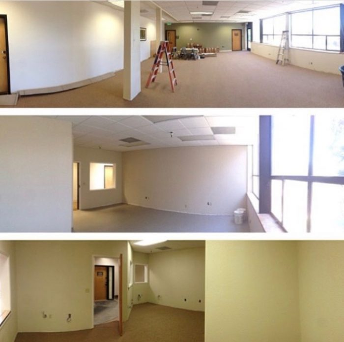 new construction home rooms